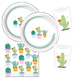 Procos 10118517 Party Set Cactus